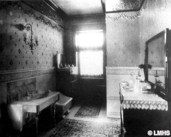 Water closet for 1800s bathroom decor